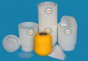 Форма для сыра закруглённой цилиндрической формы весом до 1.0 кг